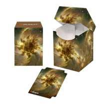 E-18289 Porta Mazzo 100 + Deck Box - Magic: The Gathering Celestial Plains