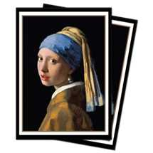 E-15296 Sleeves Standard - Fine Art - The Girl with the Pearl Earring (100 Sleeves)