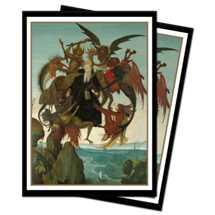 E-15298 Sleeves Standard - Fine Art - Torment of Saint Anthony (100 Sleeves)