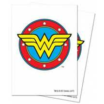 E-85519 Justice League: Wonder Woman Deck Protector Sleeves 65ct
