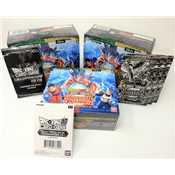 Universal Champion 3x Dragon Ball Super DBS9 Universal Onslaught + buste Promo Omaggi