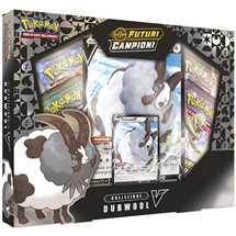 Pokemon Spada e Scudo 3.5 Futuri Campioni Collezione Dubwool-V