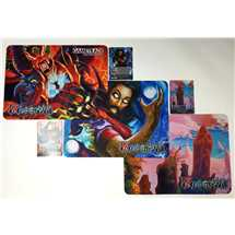 3x Mouse Pad FoW Italian Champions  + 3 Promo Foil Limited Ed.