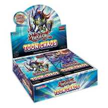 Box YGO Chaos Toon display 24 buste In Inglese