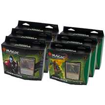 MTG Zendikar Rising Commander Deck Display (6 Decks) - ITA