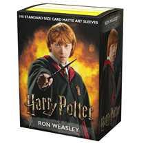 16021 Dragon Shield Matte Art Sleeves - Wizarding World - Ron Weasley Harry Potter