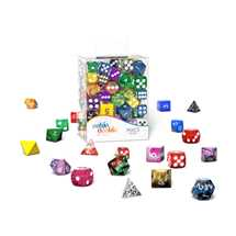 ODD600010 Oakie Doakie Dice RPG Set Retail Pack 12 mm, 16 mm Mixed (100)