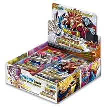 Dragon Ball Super Set 10 Unison Warrior Booster Box  in Francese