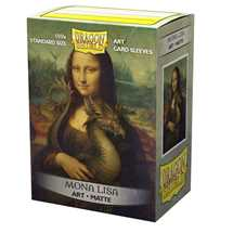12055 Dragon Shield Matte Art Sleeves - Mona Lisa (100 Sleeves)