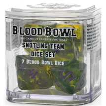 200-83 Blood Bowl - Snotling Team Dice Set