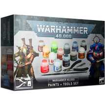 60-12 Warhammer 40,000: Paints + Tool Set