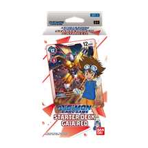 Starter Deck Digimon Card Game ST-1  Gaia Red