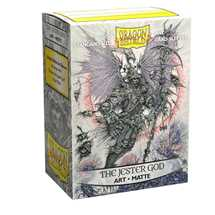 12061 Dragon Shield Matte Art Sleeves The Jester God (100 Sleeves)