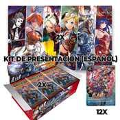 1 Kit de Presentación (2 playmat + 12 promo) + 2 Box FOW EDL ESP