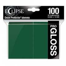 E-15605 Deck Protector Gloss Eclipse - Forest Green (100 Sleeves)
