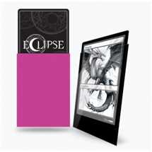 E-15609 Deck Protector Gloss Eclipse - Hot Pink (100 Sleeves)
