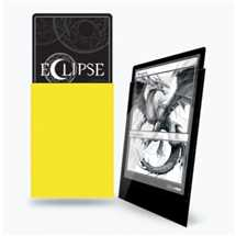 E-15608 Deck Protector Gloss Eclipse - Lemon Yellow (100 Sleeves)