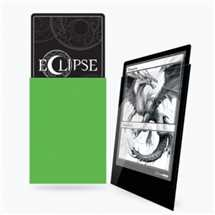 E-15606 Deck Protector Gloss Eclipse - Lime Green (100 Sleeves)