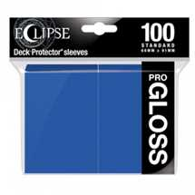 E-15602 Deck Protector Gloss Eclipse - Pacific Blue (100 Sleeves)