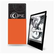 E-15607 Deck Protector Gloss Eclipse - Pumpkin Orange (100 Sleeves)