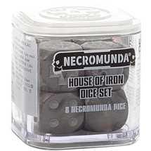 300-12 Necromunda House of Iron Dice Set