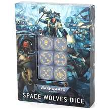 53-27 Space Wolves Dice Set