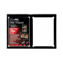 E-15112 UP - 2-Card Black Border ONE-TOUCH Magnetic Holder