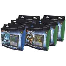 MTG Kaldheim Commander Deck Display (6 Decks) - ITA