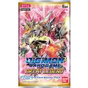 Busta Digimon Card Game BT04 Great Legend