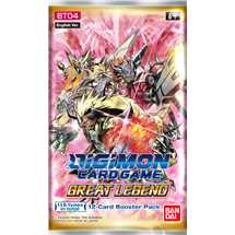 Busta Digimon Card Game BT04 Great Legend