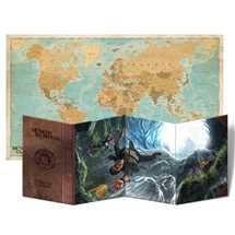 Broken Compass: Schermo del Fortune Master + Mappa del Mondo