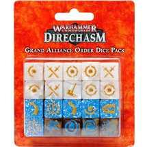 111-09 Warhammer Underworlds Set di Dadi della Grande Alleanza Ordine