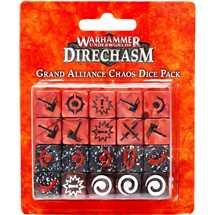 111-10 Warhammer Underworlds Set di Dadi della Grande Alleanza Chaos