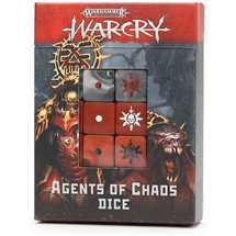 111-73 Warcry: Set di Dadi degli Agenti del Chaos