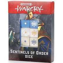 111-76 Warcry: Set di Dadi delle Sentinelle dell'Ordine