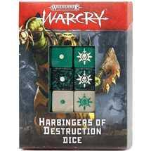 111-75 Warcry: Set di Dadi degli Araldi della Distruzione