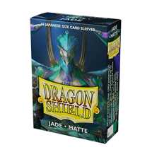 11104 Dragon Shield Small Sleeves - Japanese Matte Jade (60 Sleeves)