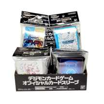Display 12x Digimon Card Game Official Deck Protectors (60 sleeves) (3x variante)