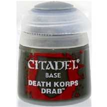 21-40 Citadel Base: Death Korps Drab