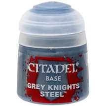 21-47 Citadel Base: Grey Knights Steel