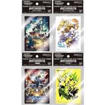 Display 12x Digimon Card Game Official Deck Protectors (60 sleeves)