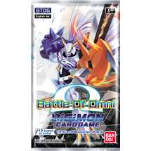 Busta Digimon Card Game BT05 Battle of Omni