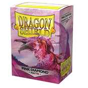 11039 Dragon Shield Standard Sleeves - Pink Diamond (100 Sleeves)