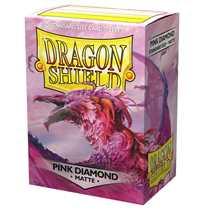 11039 Dragon Shield Standard Sleeves - Pink Diamond (100 Sleeves)
