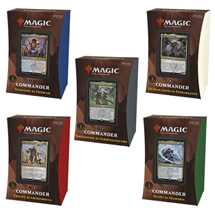 MTG - Strixhaven: School of Mages Commander Deck Display (5 Decks) - ITA