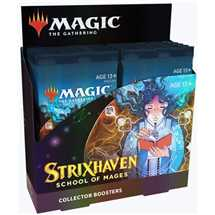 MTG - Strixhaven: School of Mages Collector Booster Display (12 Packs) - ITA