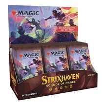 MTG - Strixhaven: School of Mages Set Booster Display (30 Packs) - EN