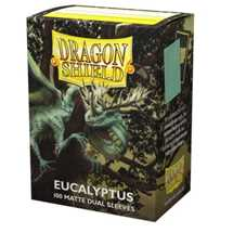 15049 Dragon Shield Dual Matte Sleeves - Eucalyptus 'Lehel' (100 Sleeves)