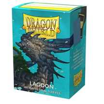 15048 Dragon Shield Dual Matte Sleeves - Lagoon 'Saras' (100 Sleeves)