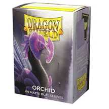 15041 Dragon Shield Dual Matte Sleeves - Orchid 'Emme' (100 Sleeves)